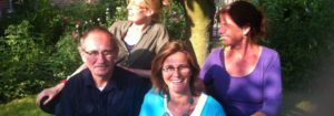 Lia, Sini, Andrea en Roland